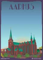 Aarhus-Domkirke by PlakatBrigaden