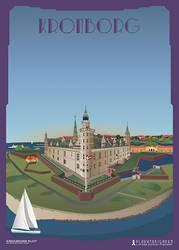 Kronborg Slot by PlakatBrigaden
