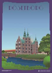Rosenborg Slot by PlakatBrigaden