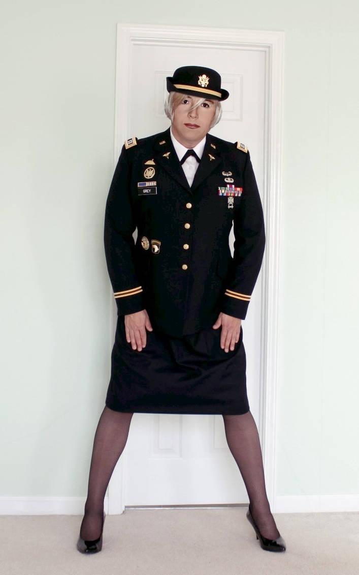 Me In U S Army Acu Dress Blues By Juliegrey2001 On Deviantart