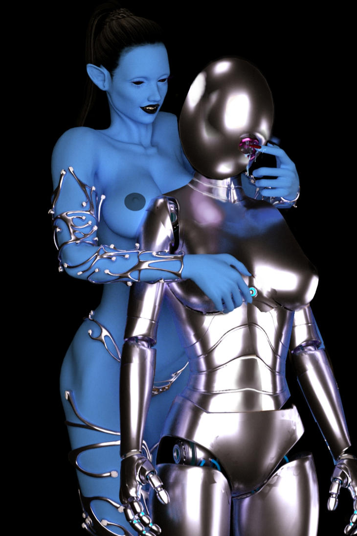 Transformed into Cybernetic Drone 4 by juliegrey2001