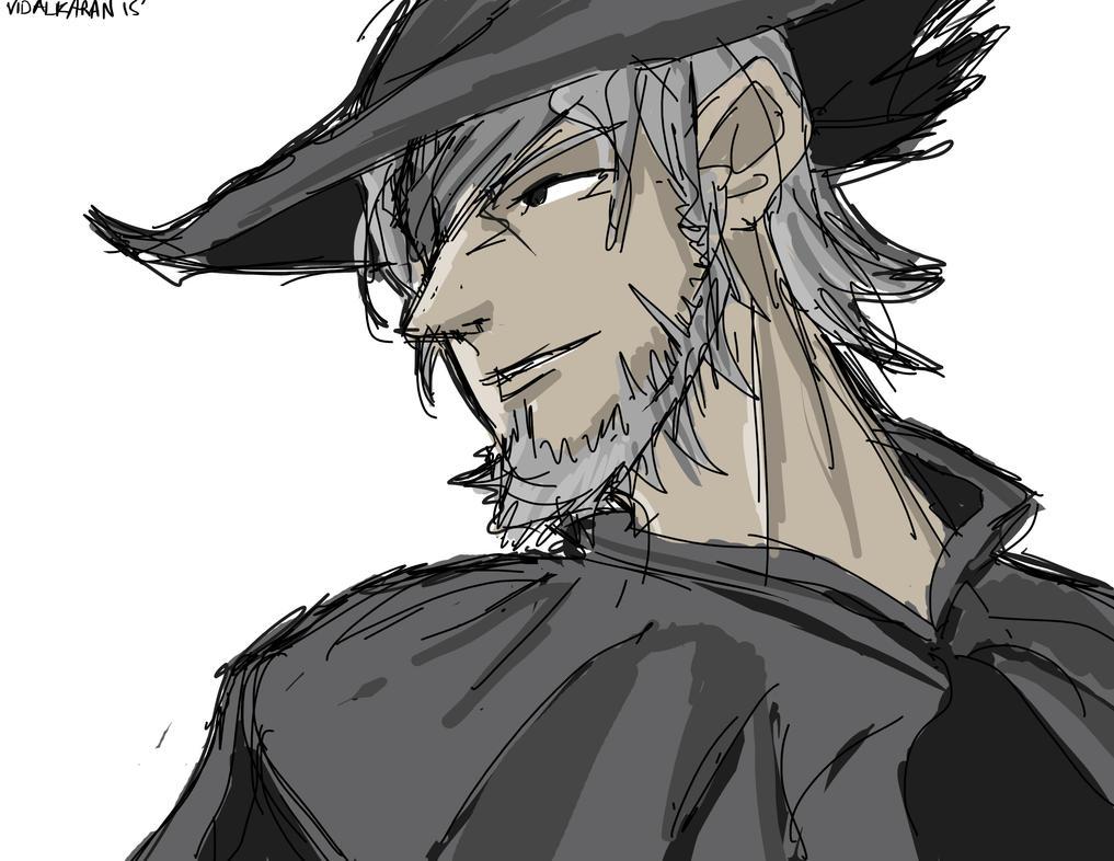 Retired Hunter Djura by Kazimaru