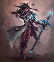 The Warlock Knight