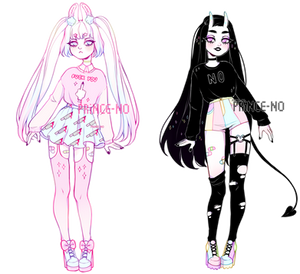 pastel goth adopts | closed