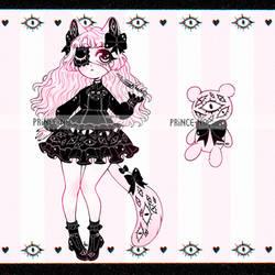 { eye kitty lolita adopt OTA | closed } by prince-no