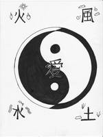 Yin Yang by Kingscrest13