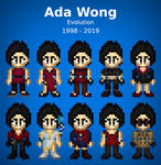 Evolution of Ada Wong (Resident Evil)