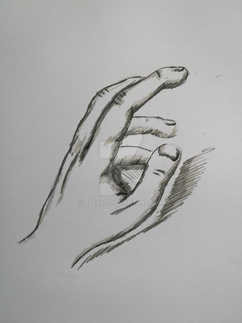 Hand by Daeryc