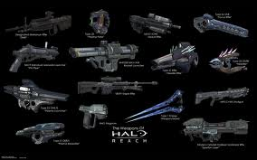 HALO REACH WEAPONS by YoshiSand