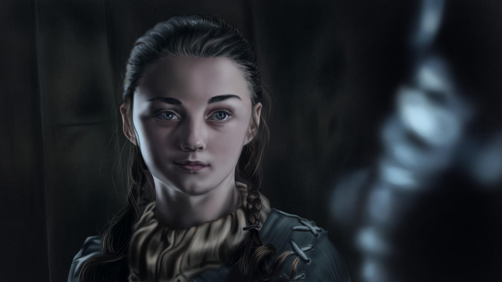 Arya stark by diana scribbles on deviantart
