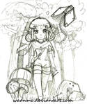 Lilimel chibi sketch
