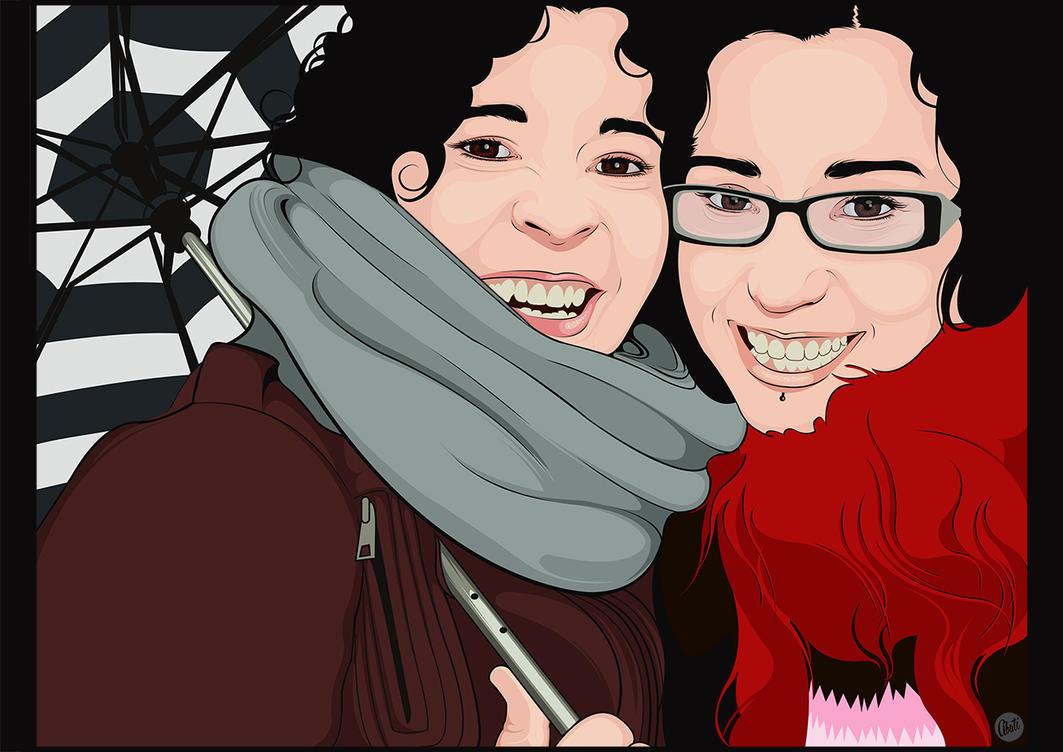 Commision Rocio y Marta by Mamba26