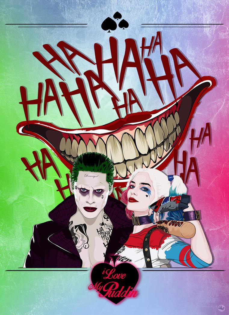 Joker and Harley by Mamba26
