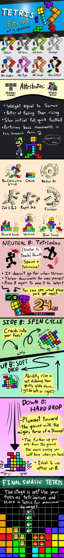 Smash Bros. Concept: Tetris!