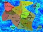 Gijalga (with some phsyical features)Political Map