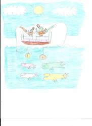 Seto And Mokuba's Fishing Trip