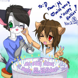 Happy Birthday D by Neoen