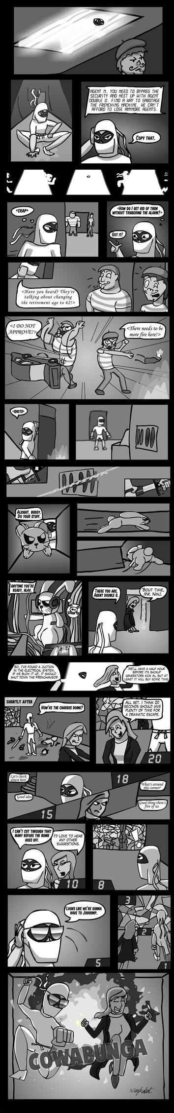 SB: Comic Jam 1 by ninjkabat