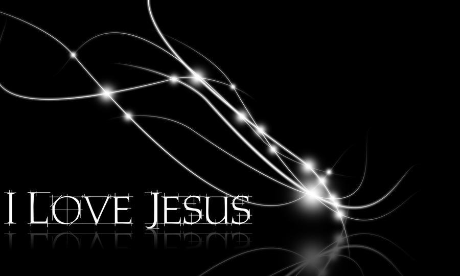 Group Of Black Wallpaper I Love Jesus
