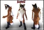 Fursuit Commission - Bane by Vixen8387