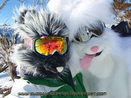 Snow Foxy Suits by Vixen8387