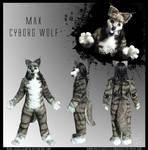 Fursuit Commish - Cyborg Wolf