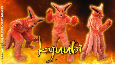 Fursuit Commission - Kyuubi by Vixen8387
