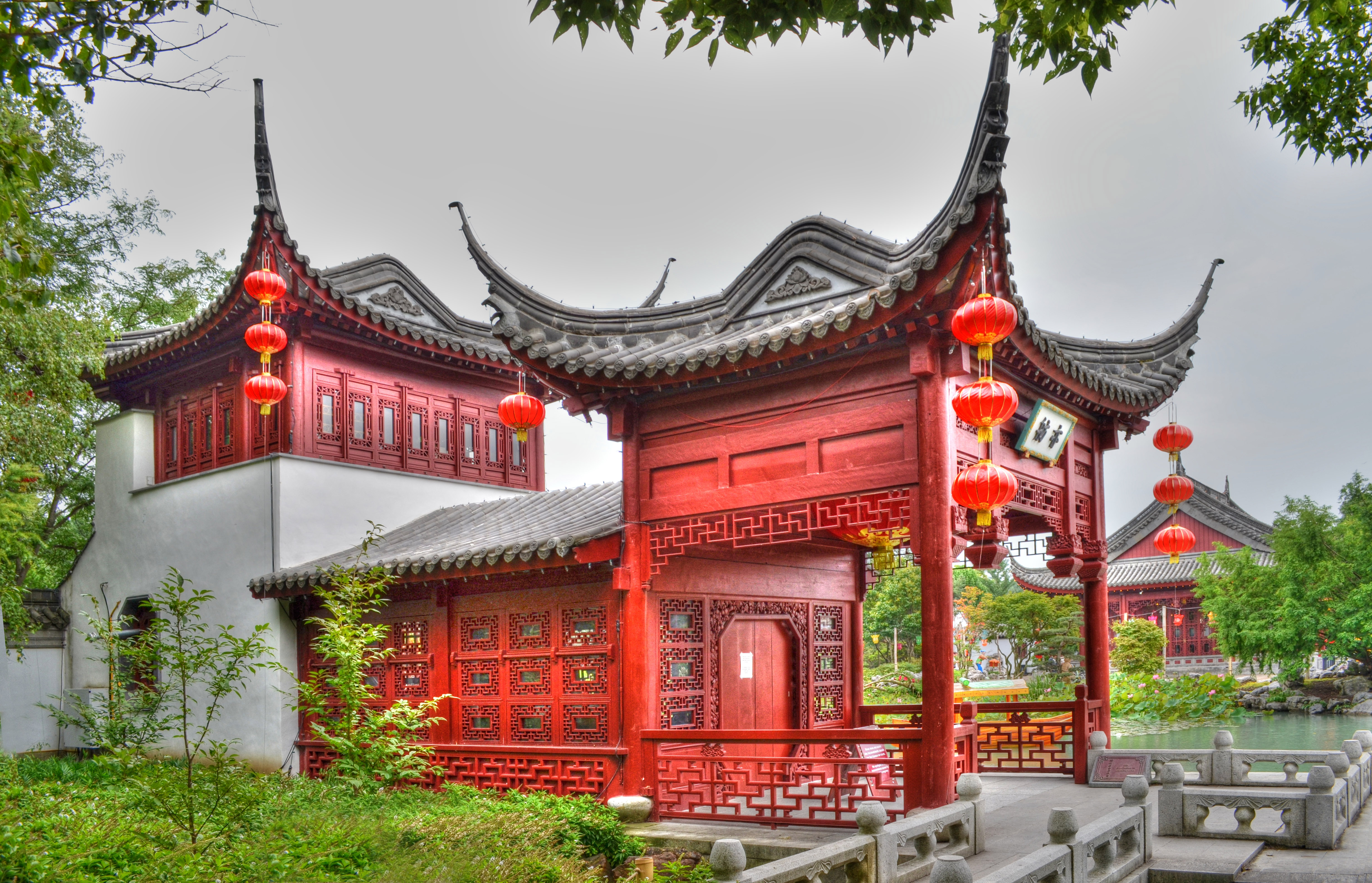 Chinese Gardens by Albenika