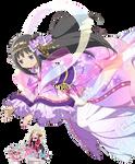 Madoka Magica Renders: Tanabata Akemi Homura