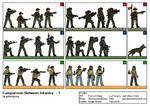 Comparison Between Infantry - 1