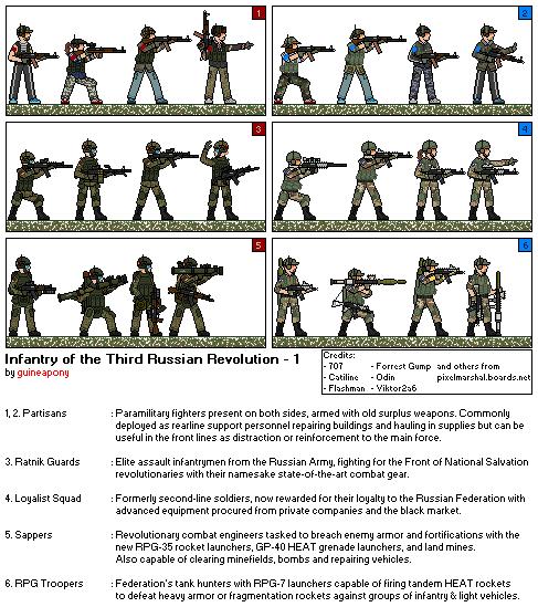 Infantry of Third Russian Revolution - 1 by Braginski95 on DeviantArt