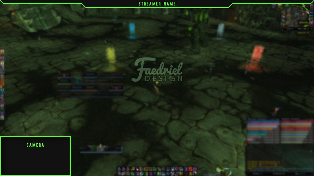 Simple Twitch Overlay - WoW Legion Themed by ...
