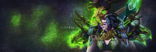 Elkyria - Twitter Banner by FaedrielDesign