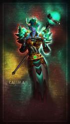 Kalima - Phone Wallpaper by FaedrielDesign