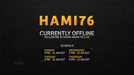 Hami76 - Offline Video Banner by FaedrielDesign