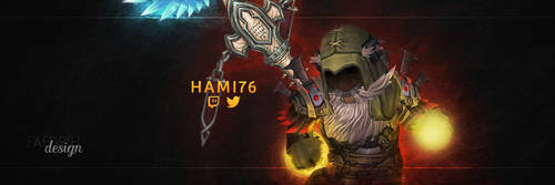 Hami76 - Profile Banner by FaedrielDesign