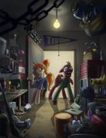 (com) Clutter by MisterMech