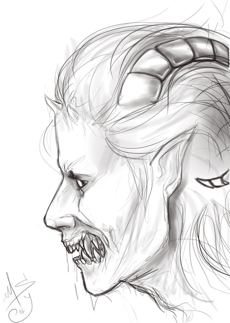 Sketch by MadnessSilenceJester