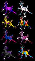 Queer Deer Adopt Sheet 1 -={OPEN}=- by shadow21812