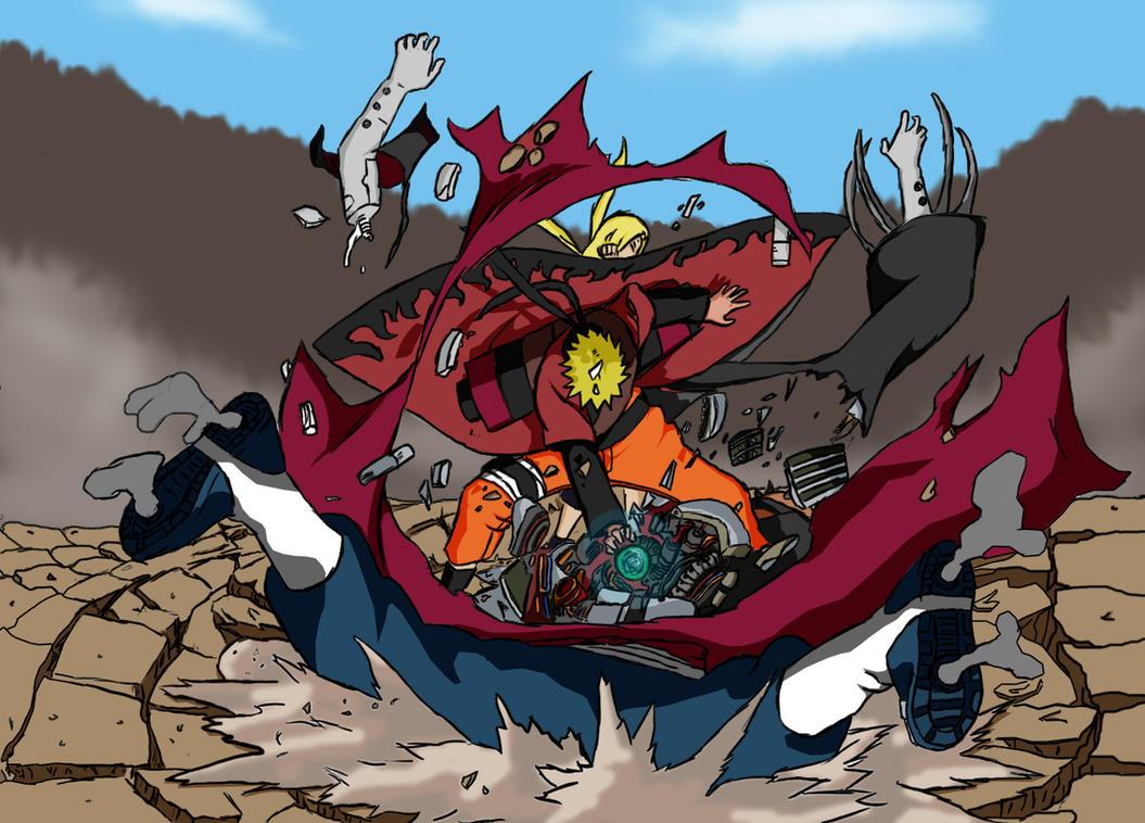 Naruto Vs Pain By Steveintexas07 On Deviantart
