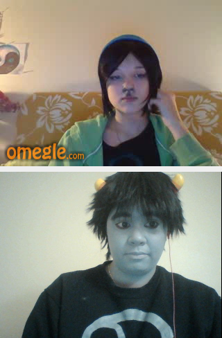 Omegle Test by Lennie-baby
