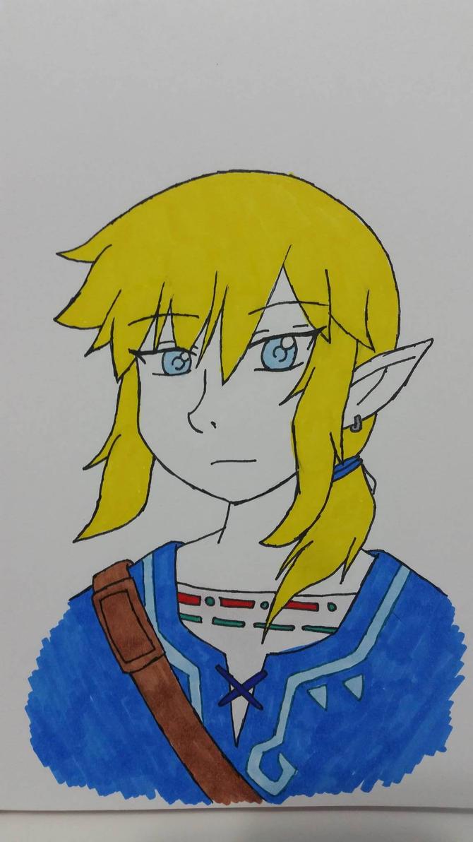Legend of Zelda: Breath of the Wild by Lennie-baby