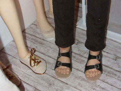 BJD guys' sandals by Jany1982