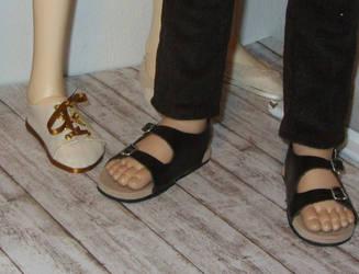 BJD guys' sandals by Jany1982