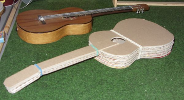 another BJD guitar in the works by Jany1982