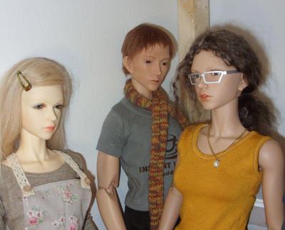 BJD glasses 2.0 by Jany1982