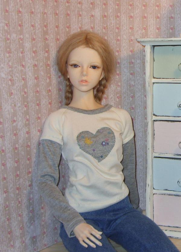 fake layered BJD shirt by Jany1982