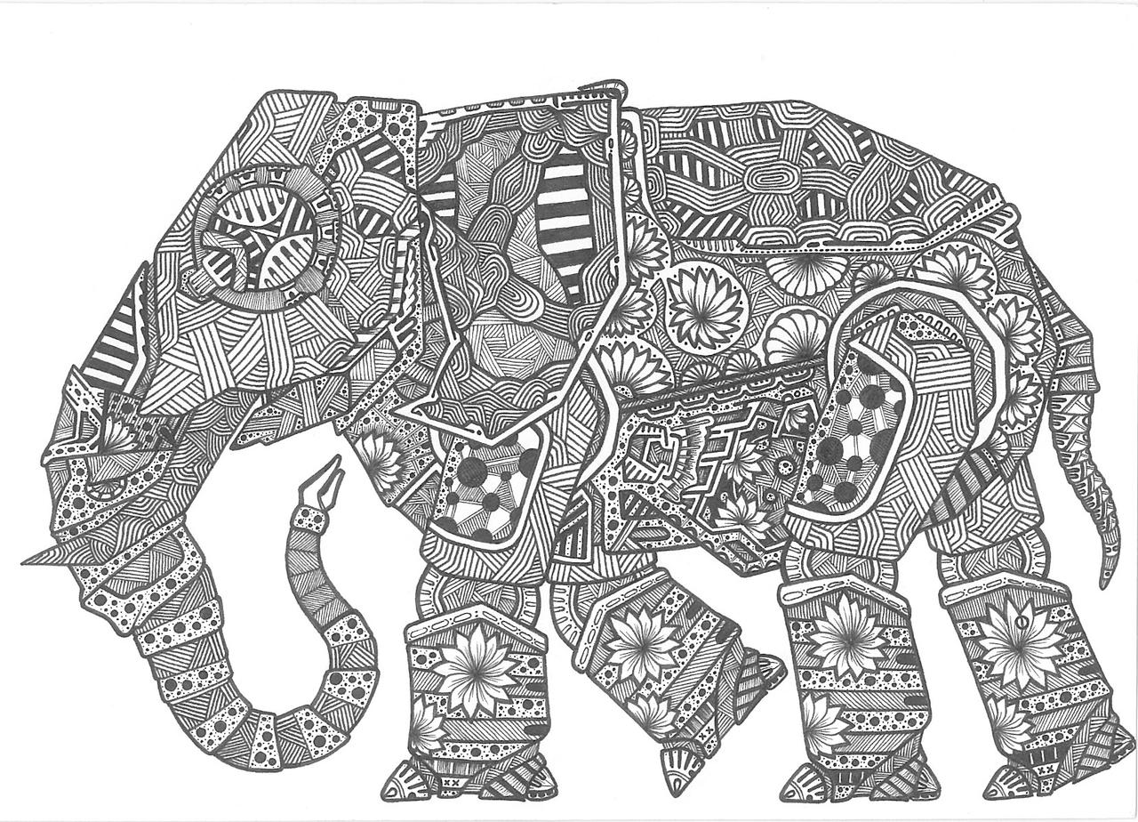 Pencil Drawings Of Elephants Tumblr Elephant by ExScout on...