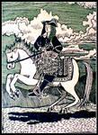 Gentleman on a horse by John-Baroque