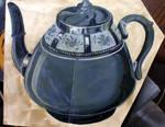 Grey Tea Pot